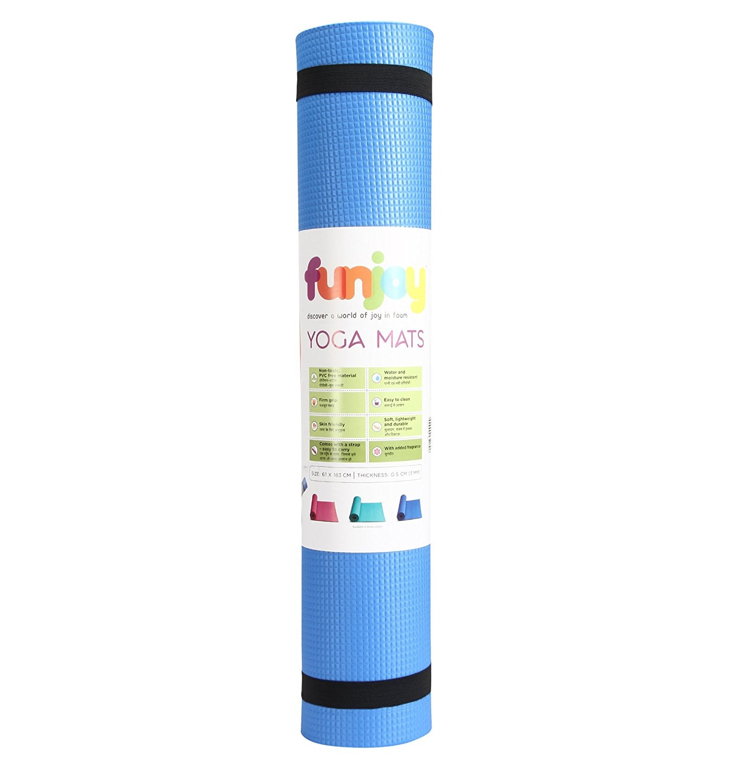 Yoga Mat 5mm thickness by Funjoy  27cb0f205