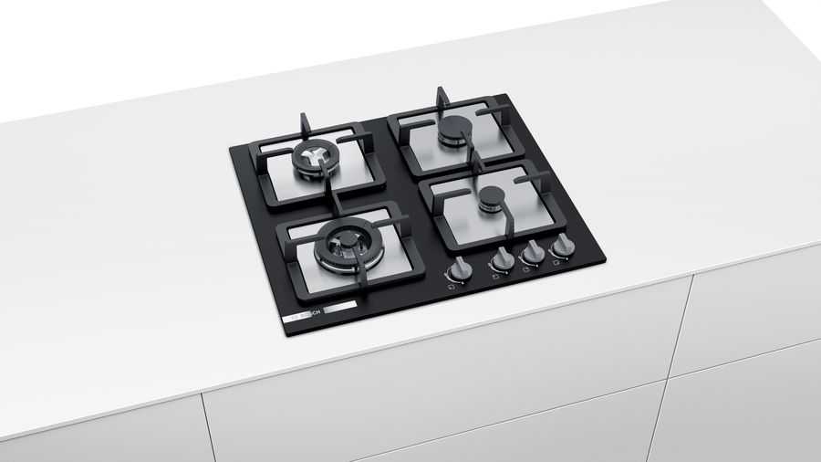 Bosch appliances has launched Brass burner hobs