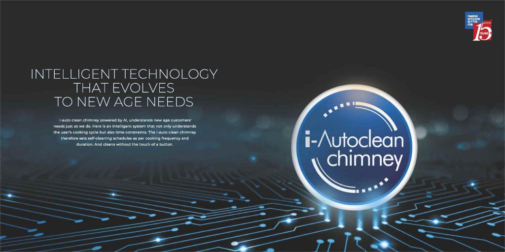 Benefits of auto clean technology in Chimneys: